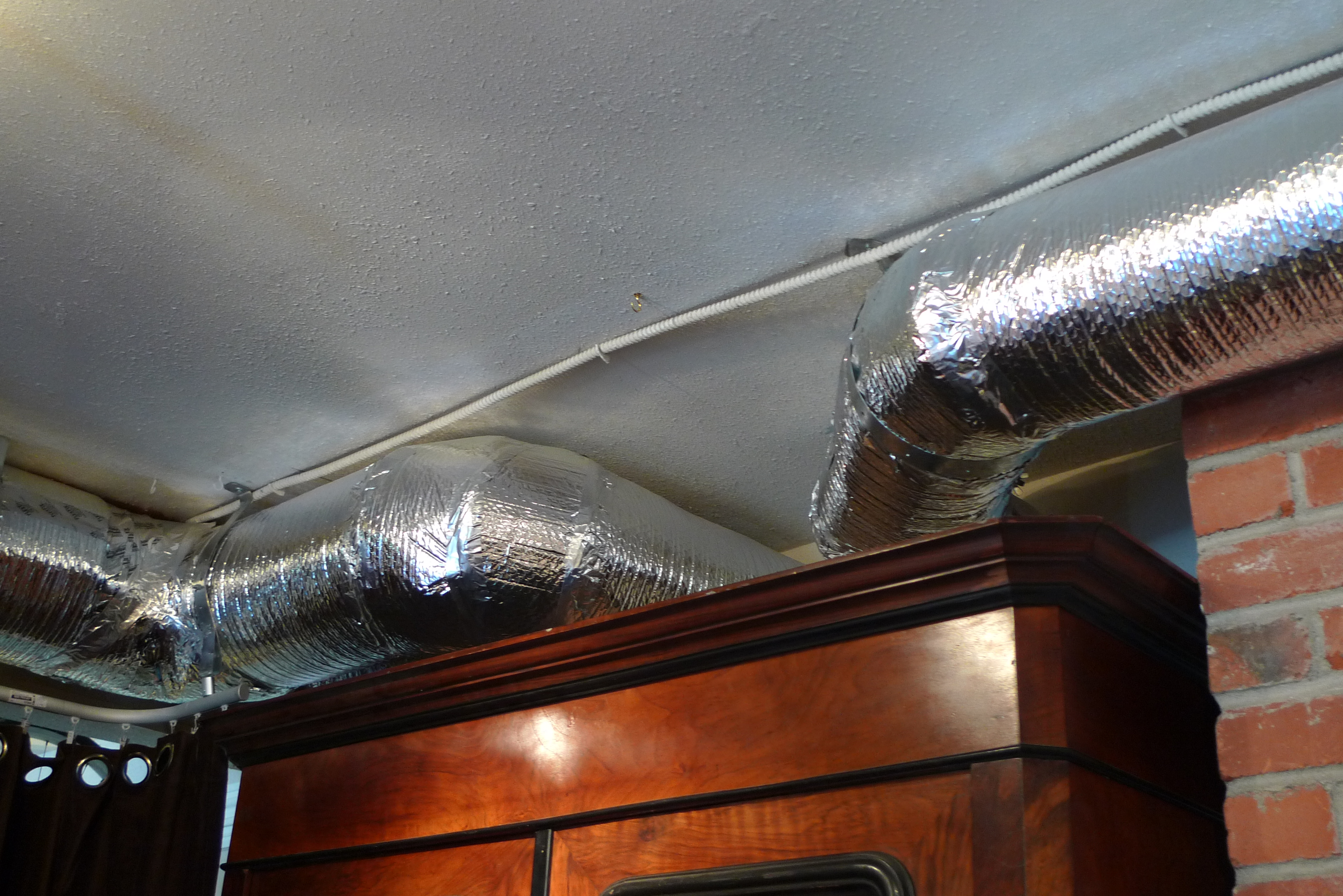 #B24A19 Garage/ Waiting Room Project. Seam 2 Rip Best 3573 Heating Duct Covers photos with 3776x2520 px on helpvideos.info - Air Conditioners, Air Coolers and more